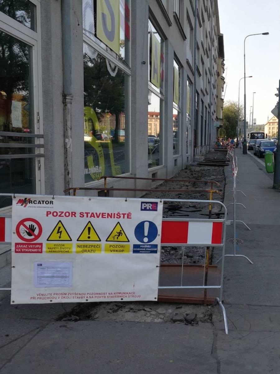 Praha Bubeneč obnova kVN a kNN Mercator s.r.o. Praha