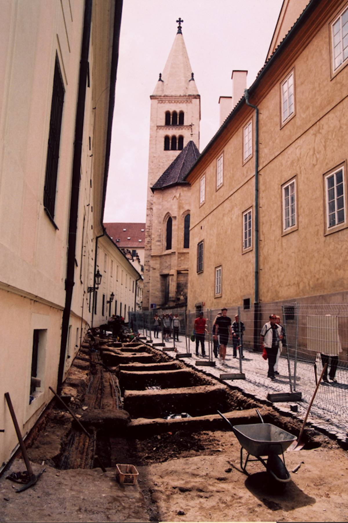 Pražský hrad ulice Jirská rekonstrukce IS Mercator s.r.o. Praha