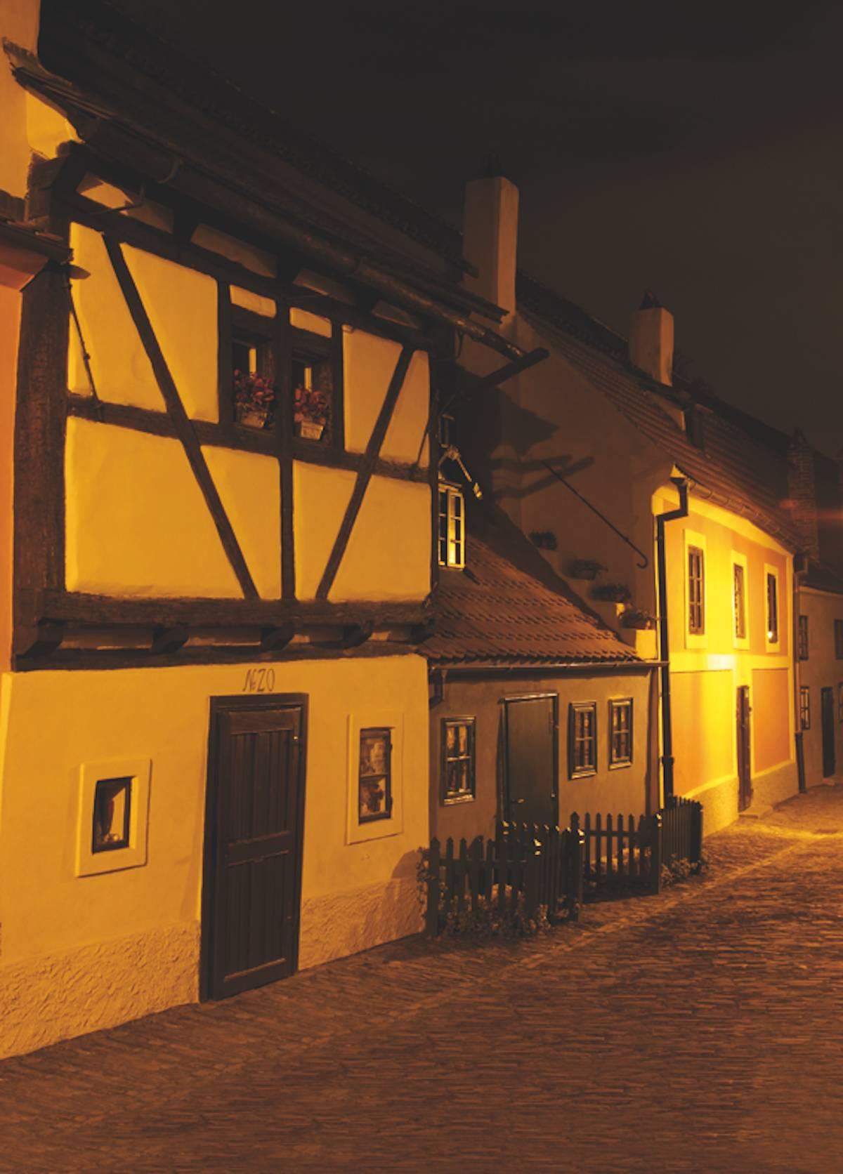 Pražský hrad rekonstrukce ve Zlaté uličce Mercator s.r.o. Praha